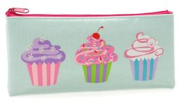 Cupcakes Coated Cotton Pencil Pouch 4