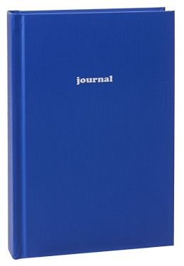 Cobalt Basic Lined Journal 5