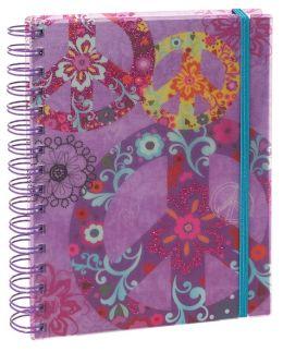 Boho Peace Lined Wiro Journal 6