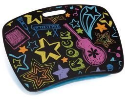 Neon Rock Lap Desk with Zip Pocket 15