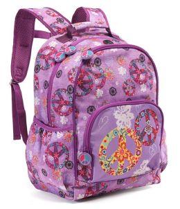 Boho Peace Nylon Backpack 16