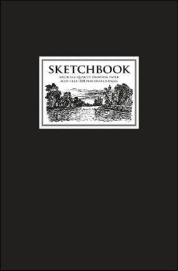 Sketchbook: Black Medium