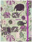 Book Cover Image. Title: 2015 Weekly Planner 6x8 Elephant Train Flexi Engagement Calendar, Author: Punctuate