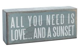 All You Need is Love and a Sunset Sign 6