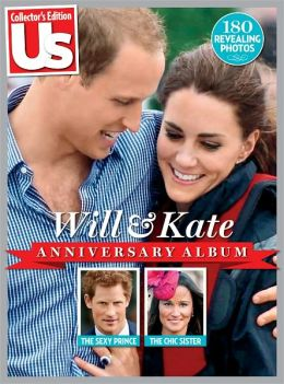 US Weekly Will & Kate Anniversary Album
