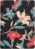 Product Image. Title: Day Lillies in Coral &amp; Turquoise Cover HD
