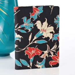 Day Lillies in Coral & Turquoise Cover HD