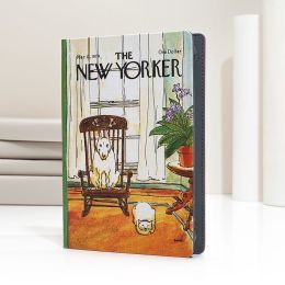 New Yorker Dog in Chair Cover HD