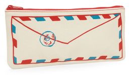 Air Mail Canvas Pencil Pouch 4