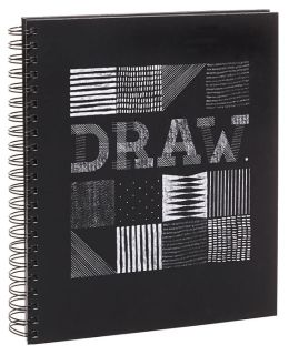 Draw Black Wiro Sketchbook 8.5