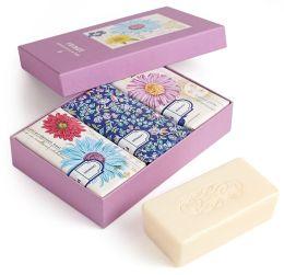 Printemps Fleur Botanical Scented Soaps in Box - Set of 3