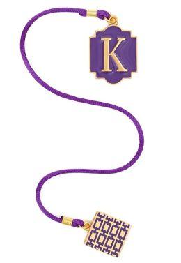 Initial K Bookmark