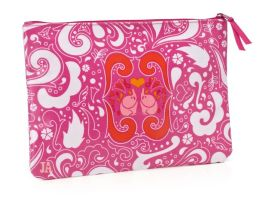 Jonathan Adler Pink Elephant Accessory Pouch