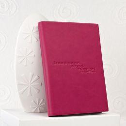 Thoreau Quote Cover in Dark Fuchsia HD
