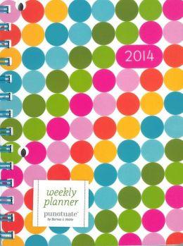 2014 Weekly 5x8 Dots Engagement Calendar