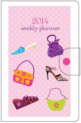 2014 Weekly Vinyl Shoes & Bags Engagement Calendar