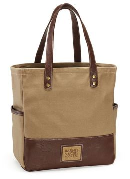 Barnes & Noble Safari Green Canvas Book Bag (12.75
