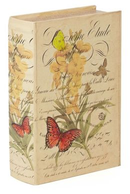 Butterfly Etude Fabric Book Box 10.6