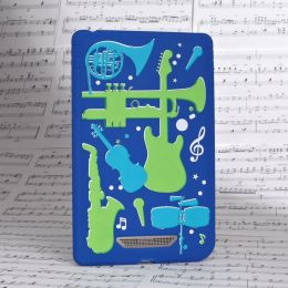 Silicone Instruments in Blue