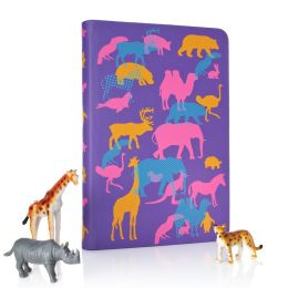 Animal Crackers Cover in Purple
