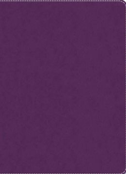 Purple Leatherlook Journal