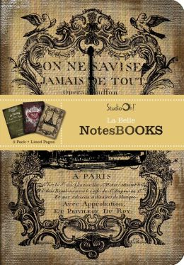 La Belle: 3 Pack NotesBooks