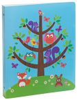 Product Image. Title: Critter Tree 3-Ring Binder 9'' x 12''