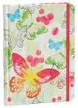 Product Image. Title: Watercolor Butterfly Hard Bound Journal 6'' x 8''
