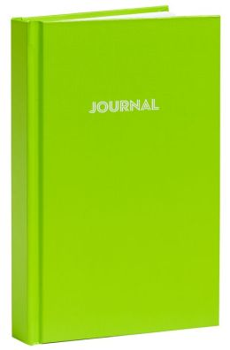 Lime Basic Bound Lined Journal (5''x 8'')