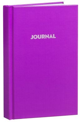 Purple Basic Bound Lined Journal (5''x 8'')