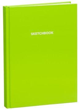 Lime Basic Bound Sketchbook (8.25''x11.25'')