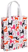"Product Image. Title: Jonathan Adler It's Raining Cats & Dogs Tote 8"" x 10"" x 3.5"""