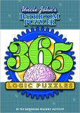 Book Cover Image. Title: Uncle John's Bathroom Puzzler:  365 Logic Puzzles, Author: Bathroom Readers