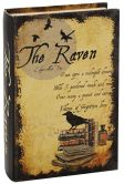 Product Image. Title: Raven Book Box with Book Binding Accents 6.25'' x 9.5''