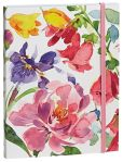 "Product Image. Title: Fresh Flowers Flexi Cover Journal 6"" x 8"""