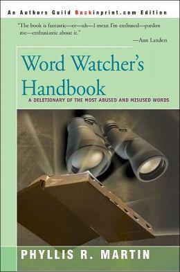 Word Watcher's Handbook