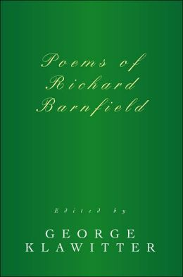 Poems of Richard Barnfield