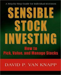 Sensible Stock Investing