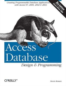 Access Database Design and Programming