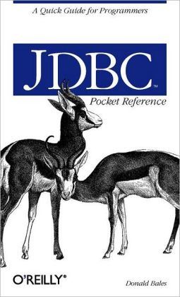 JDBC Pocket Reference