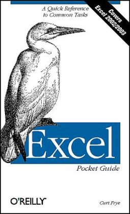 Excel Pocket Guide Curtis Frye