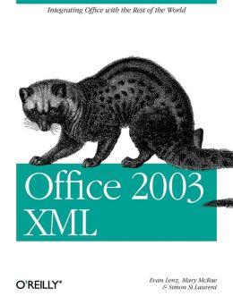 Office 2003 XML