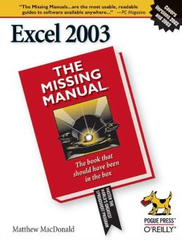 Excel: The Missing Manual