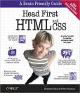 Book Cover Image. Title: Head First HTML and CSS, 2nd Edition, Author: Elisabeth Robson