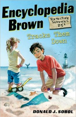 Encyclopedia Brown Tracks Them Down (Encyclopedia Brown Series #8) (Turtleback School & Library Binding Edition)