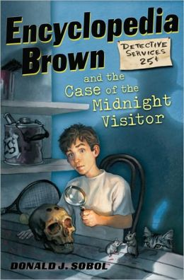 Encyclopedia Brown and the Case of the Midnight Visitor (Encyclopedia Brown Series #13) (Turtleback School & Library Binding Edition)