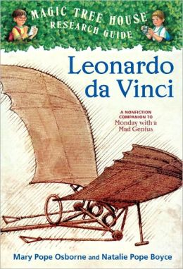 Magic Tree House Fact Tracker #19: Leonardo da Vinci: A Nonfiction Companion to Monday with a Mad Genius (Turtleback School & Library Binding Edition)