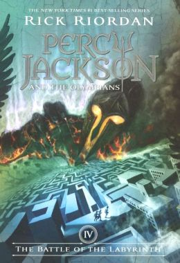 The Battle of the Labyrinth (Percy Jackson and the Olympians Series #4) (Turtleback School & Library Binding Edition)
