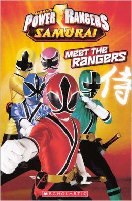 Meet The Rangers (Turtleback School & Library Binding Edition)