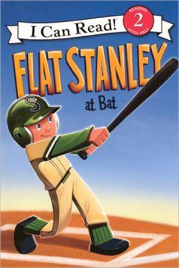 Flat Stanley at Bat (Turtleback School & Library Binding Edition)